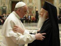 варфоломій і папа франциск kyrios