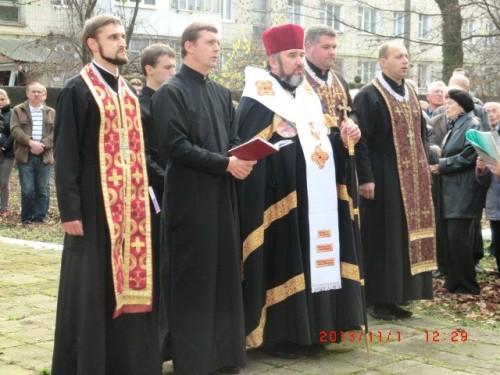 Біля пам'ятника воїнам УГА, була відслужена поминальна Панахида з нагоди 95-р. з дня створення ЗУНР