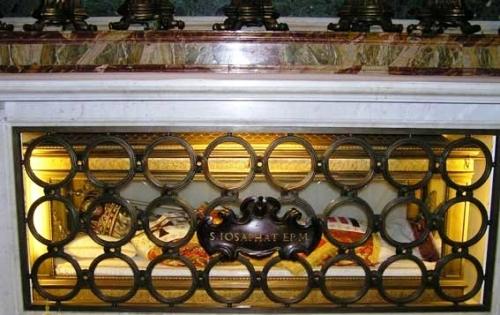 Мощі українського мученика за єдність Церкви вже 50-ть років спочивають у Ватикані