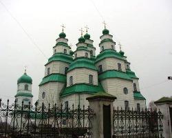 Свято-Троїцький собор Дніпропетровська палає у вогні