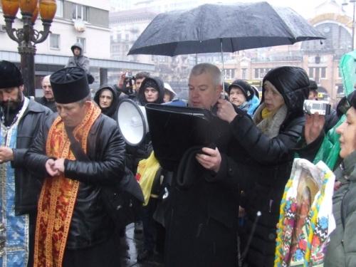 Центральними вулицями Києва пройшла Хресна Дорога