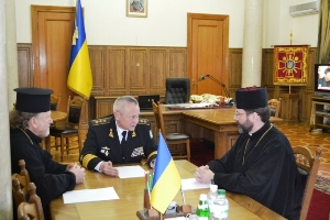 Патріарх Святослав провів зустріч з міністром оборони України