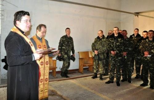 З душпастирським візитом капелани УГКЦ відвідали військові частини на Чернігівщині