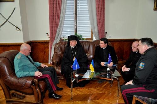 Головний капелан УГКЦ провів зустріч з Головнокомандувачем Збройних Сил України