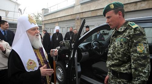 Патріарх Філарет: якщо знадобиться то будемо стріляти