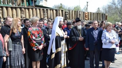 Глава УГКЦ Святослав і Блаженніший Любомир у заповіднику Тараса Шевченка посадили іменні дуби