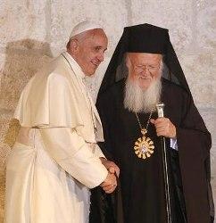 Папа і Патріарх Константинопольський разом відзначать річницю Нікейського Собору