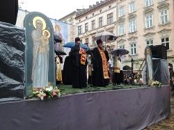 У Львові представники усіх конфесій  молились за єдність України