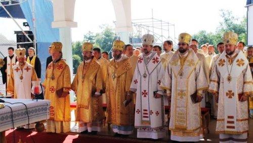 На Трнопільщині Патріарх УГКЦ та Прем'єр-міністр України молилися за мир в Україні. ФОТО