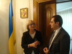 Посол України при Святому Престолі вдячна Папі Франциску за підтримку