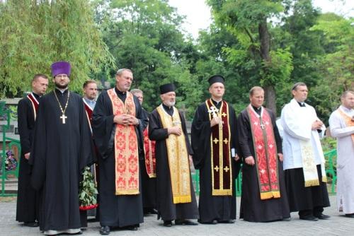 У Львові молитвою вшанували 100-ліття з дня створення легіону Українських Січових Стрільців