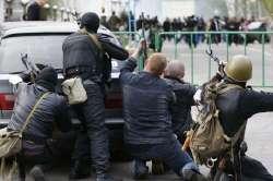 Храм влкм.Пантелеймона обстріляли терористи у Донецьку