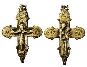 Археологи знайшли унікальний хрест-енколпіон