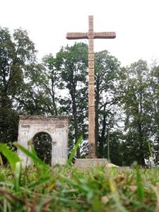 В Підгірцях встановлено величний хрест з нагоди 25-ти ліття виходу УГКЦ з підпілля