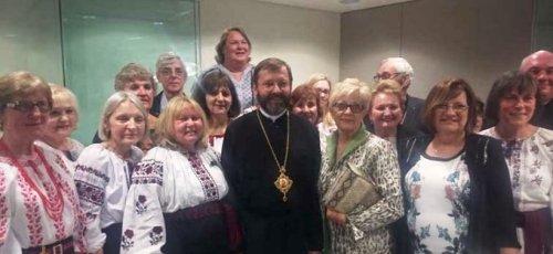Австралія: у Сіднеї відбувся урочистий прийом на честь душпастисрського візиту Патріарха Святослава
