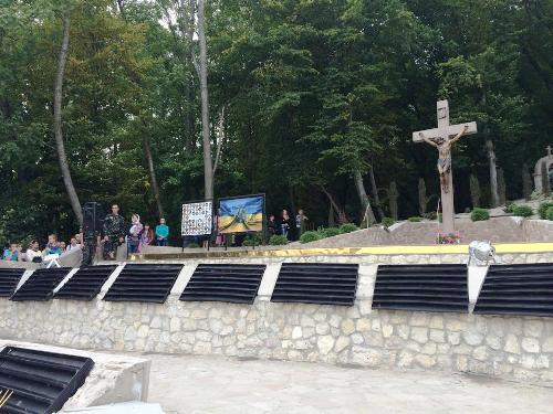 Хрест - це найсильніша зброя,якою можемо подолати зло - VI військове паломництво до Зарваниці.(ФОТО)