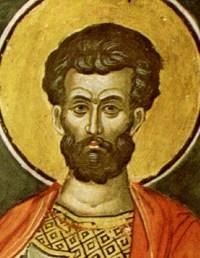 святий мученик Лонгін, що був сотником
