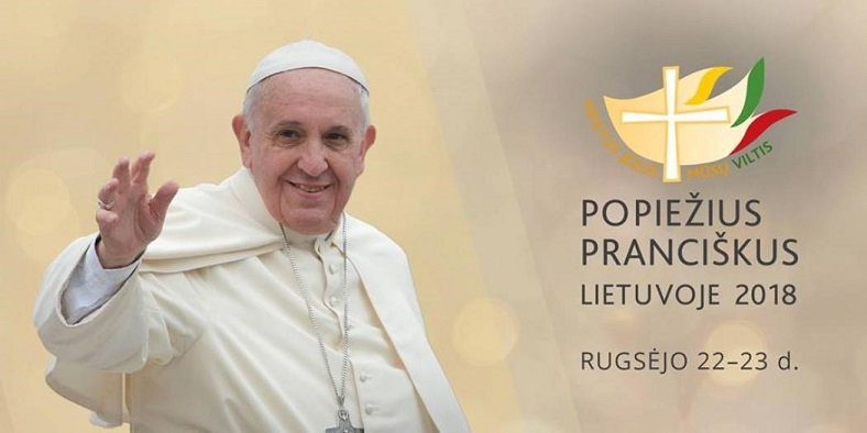Pope Francis Apostolic Visit to the Baltic Countries. Arrival at Vilnius