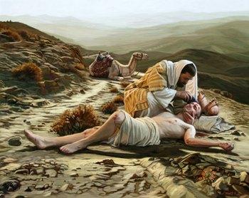 Притча: Проповідь для пораненого