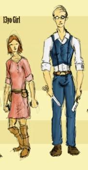 Притча: Кравець і дівчина
