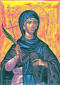 9 квітня - святої Матрони, що в Солуні — Християнський портал КІРІОС