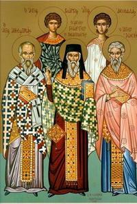 """Результат пошуку зображень за запитом """"Святих мучеників Акепсима, єпископа, Йосифа, пресвітера, й Айтала, диякона"""""""