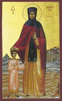 """Результат пошуку зображень за запитом """"Преподобної матері нашої Теодори, що в Олександрії"""""""